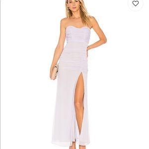 MAJORELLE strapless maxi dress